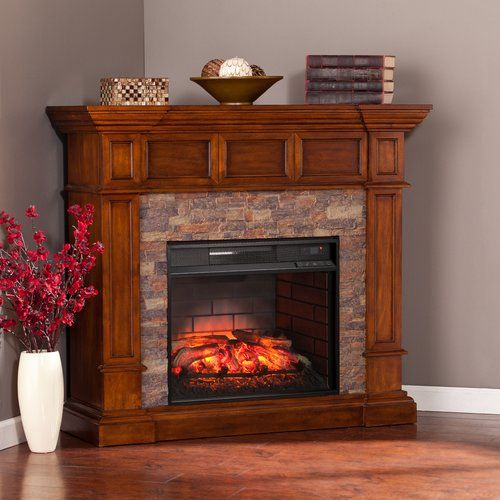 25 Best Ideas About Stone Electric Fireplace On Pinterest