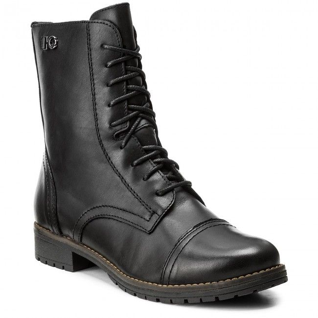Magasított cipő LASOCKI - FIGURA-02 Fekete