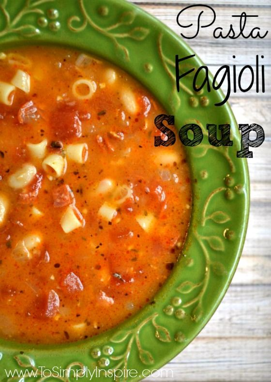 This delicious Pasta Fagioli recipe is incredible!  A classic Italian soup!  This one has bacon...need I say more!
