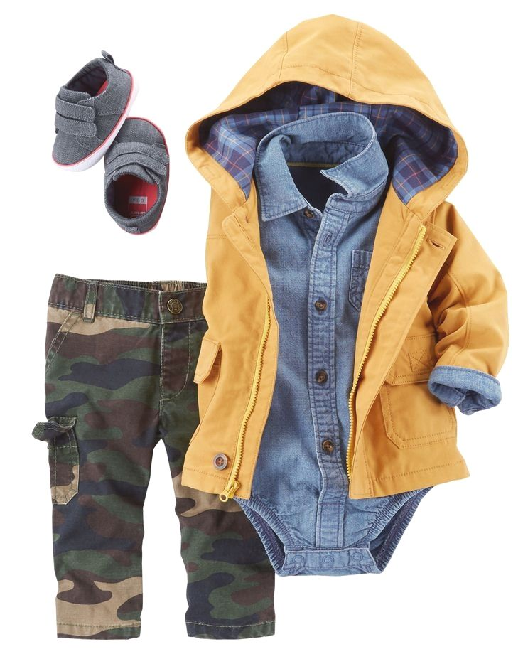 A Multitude Of Camo Baby Clothing Presents And Essential