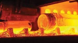 forged steel ingot