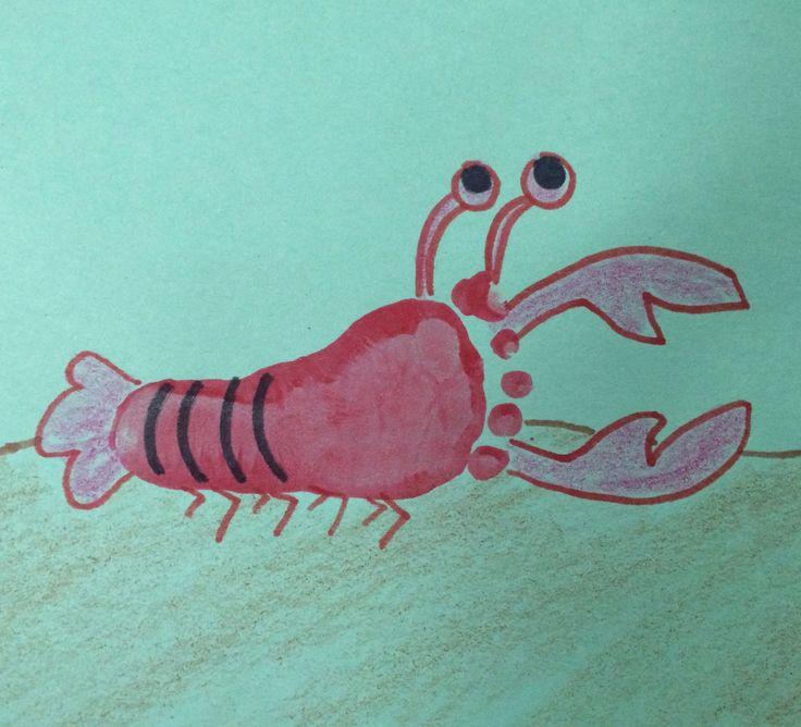 Foot Print Lobster