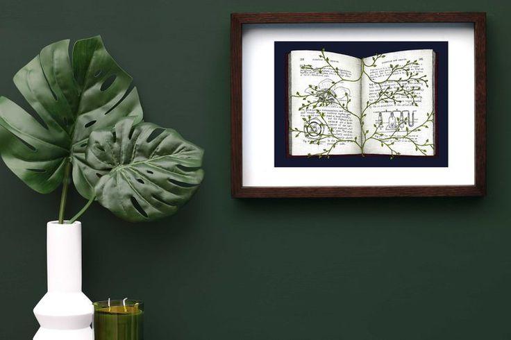 Overgrown Stories Framed
