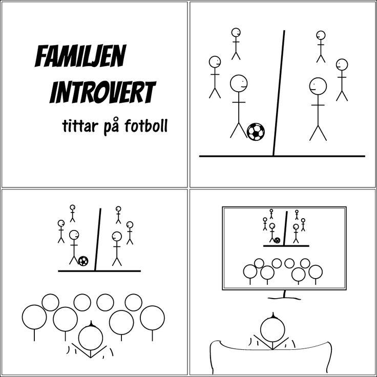 tittar på fotboll | Familjen Introvert  #introvert #familjenintrovert #humor #comic #kärlek #fredag #solitude #serie #serier #svenskaserier #livet #fredagsmys #familj #hsp #egentid #familjeliv #ensam #själv #egen #baravara #högsensitiv #självsamhet #självsam #fotboll #teve #hemma