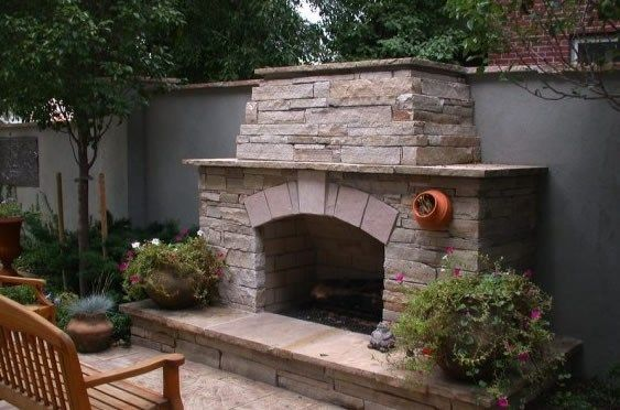 22 Best Images About Outdoor Fireplaces On Pinterest