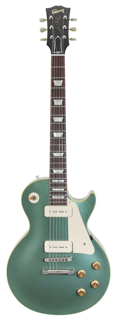 gibson custom shop - 1956 les paul vos.  antique pelham blue.