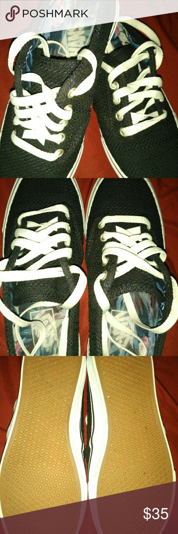 Dark Navy blue Van's NO trade's Worn only 2 times Vans Shoes Sneakers