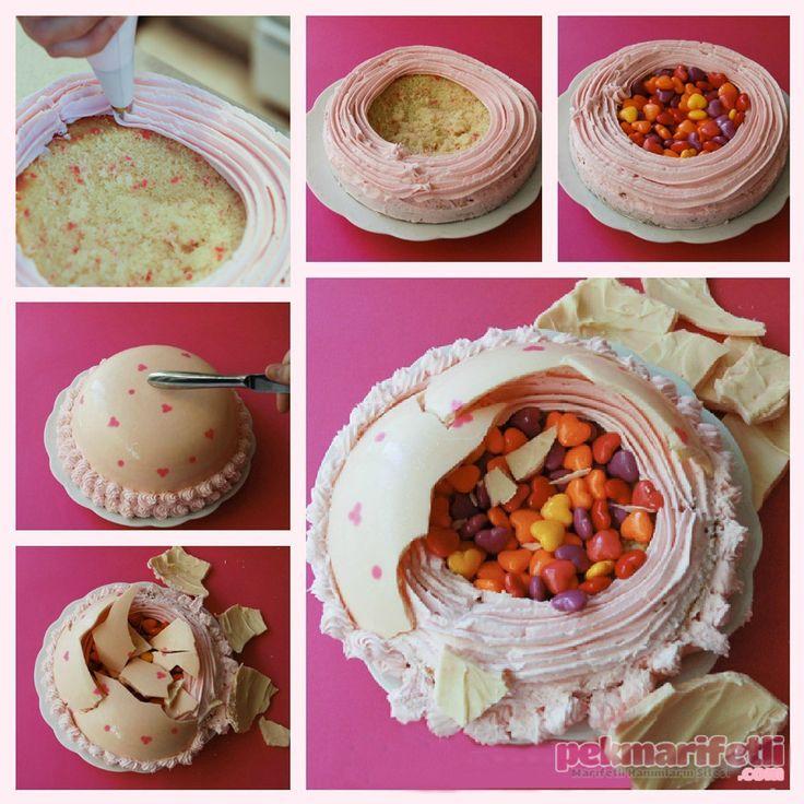 Bir süpriz pasta daha..! | Mutfak | Pek Marifetli!