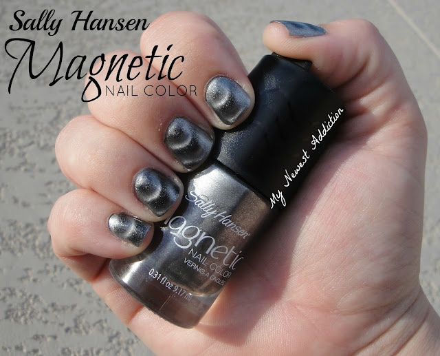 Sally Hansen Magnetic Nail Color, click thru!  I have this and in the same color too.  It is really pretty.: Hansen Magnets, Nailart Addiction, Nails Art, Colors Samples, Nails Colors, Magnets Nails, Sally Hansen, Nails Polish, Beautiful Blog