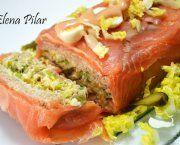 Recetas de pastel frio con salmon ahumado | Qué Recetas