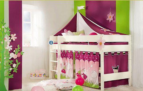 Kids' loft bed (girls) - BIANCOMO - ArchiExpo