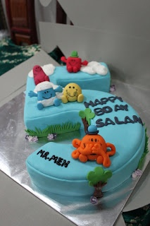 CitsCakes: Mr. Men themed Cake~ Mr Men and Little Miss cakes party kids boys girls birthday cupcake popcake cookies