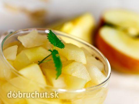 Jablkovo – hruškový kompót