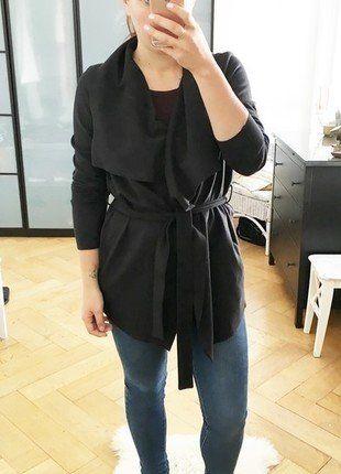 Kaufe meinen Artikel bei #Kleiderkreisel http://www.kleiderkreisel.de/damenmode/halblange-mantel/136447524-wildlederjacke-wasserfallmantel-herbstjacke-cardigan