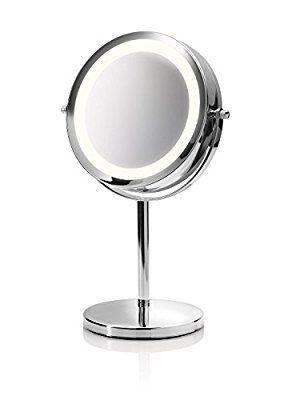Medisana CM 840 Kosmetikspiegel Mit LED Beleuchtung, Normal Und 5 Fache  Vergrößerung, 13