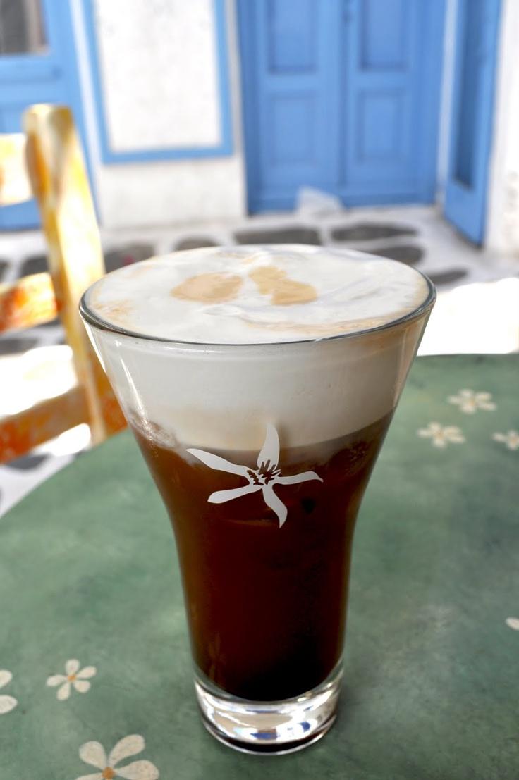 Fashion Gourmet: greek cappuccino freddo