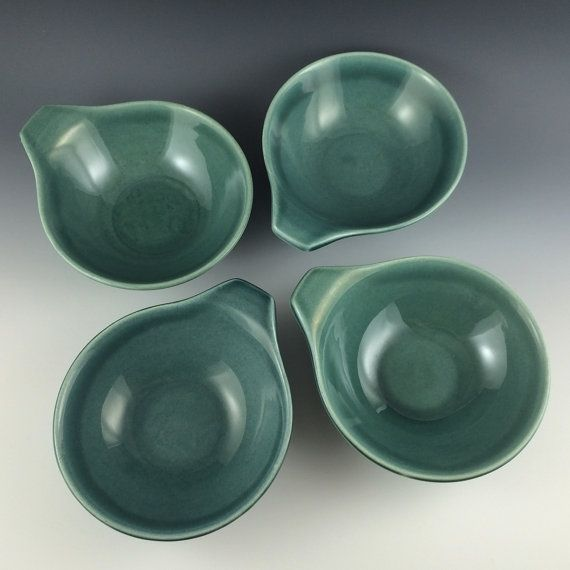 Russel Wright American Modern Soup Bowls in by PrairieDecArts