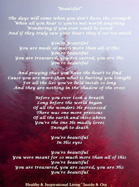 beautiful song lyrics mercy inspirations reflection christian song lyrics