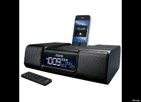 The popular line of iHome docking stations is a great all-around device for the dorm room. The iHome iA9BZC is perfectly suited to students and for $78 it's a great buy. You can charge your iPhone or iPod, sit back with the remote (included) and enjoy the system's built-in amplified stereo. Like A Chance of Showers on facebook! http://www.facebook.com/chanceofshowersonline?ref=tn_tnmn