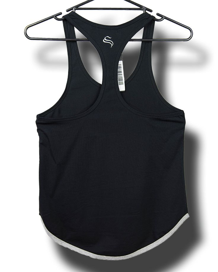 @strongliftwear Ladies 'S' T-back - Black #clothes #fashion #liftwear #singlets #women www.strongliftwear.com