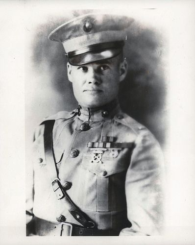 Second Lieutenant Lewis B. Puller, 1926  Second Lieutenant Lewis B. Puller, 1926.   From the Lewis B. Puller Collection (COLL/794) at the Marine Corps Archives and Special Collections   OFFICIAL USMC PHOTOGRAPH