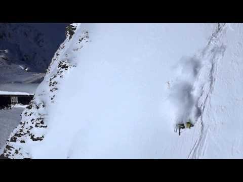 Huge Freeride Skiing Crash