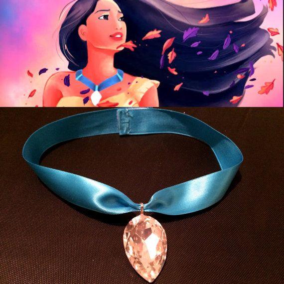 Pocahontas Necklace by KandiKrushAccessoryz on Etsy
