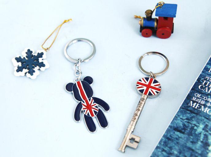 [바보사랑] 영국감성 물씬나는 유니언잭 키링 /영국/국기/열쇠고리/키링/키체인/키홀더/열쇠걸이/England/flag/key chain/key ring