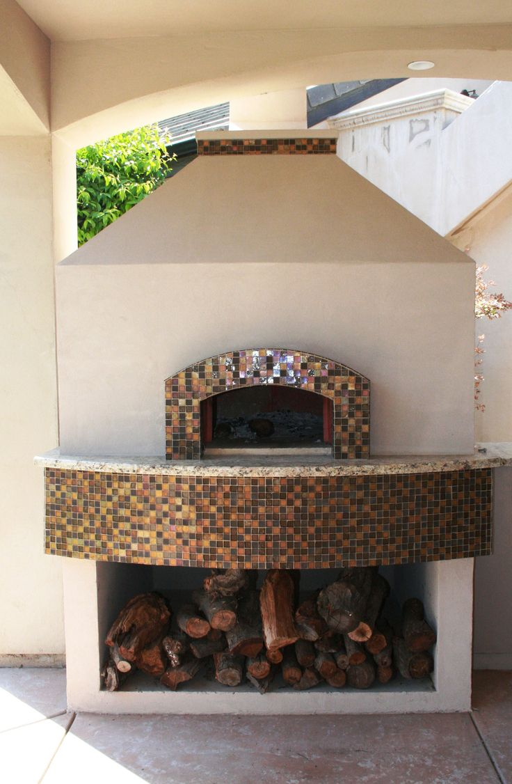 Mediterranean wood fired pizza oven - Mugnaini Pizza Oven Exterior Residential