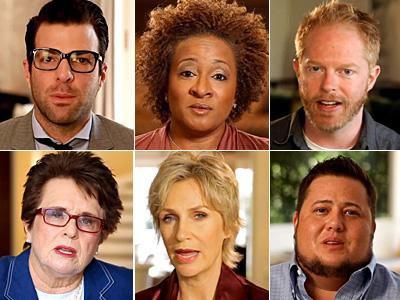 Varios famosos gay graban un vídeo de apoyo a Barack Obama
