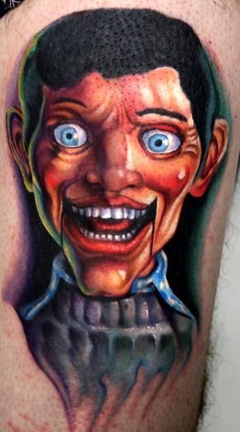 Paul Acker tattoo