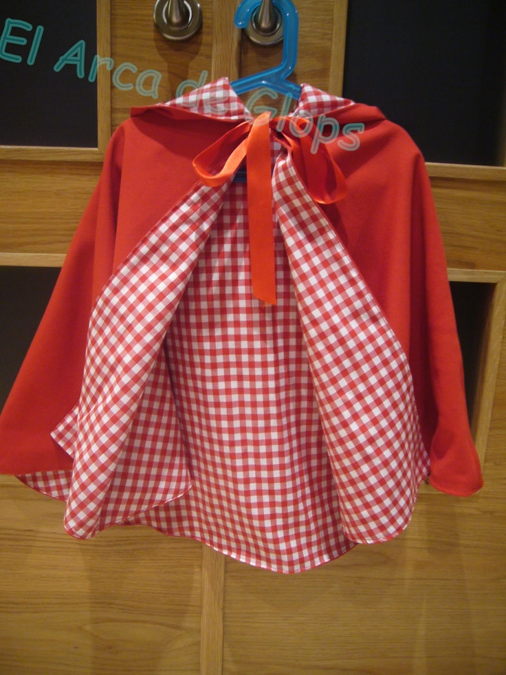 El Arca de Glops: Disfraz Caperucita Roja