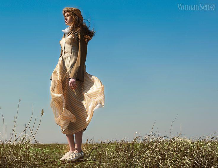 자연을 담은 내추럴 룩 - 우먼센스:패션