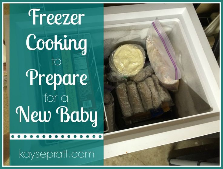 How to prep freezer meals to prepare for a new baby! Stock that freezer with two weeks worth of breakfasts, lunches and dinners. (Freezer cooking recipes included!)
