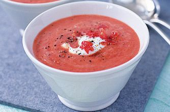 Slimming World low-fat tomato soup