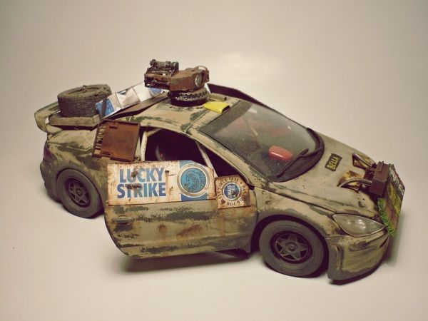 post-apocalyptic car by Hugo Nagel, via Behance