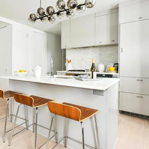 Diy Slab Kitchen Design Slab Door Ikea Kitchen Cabinets