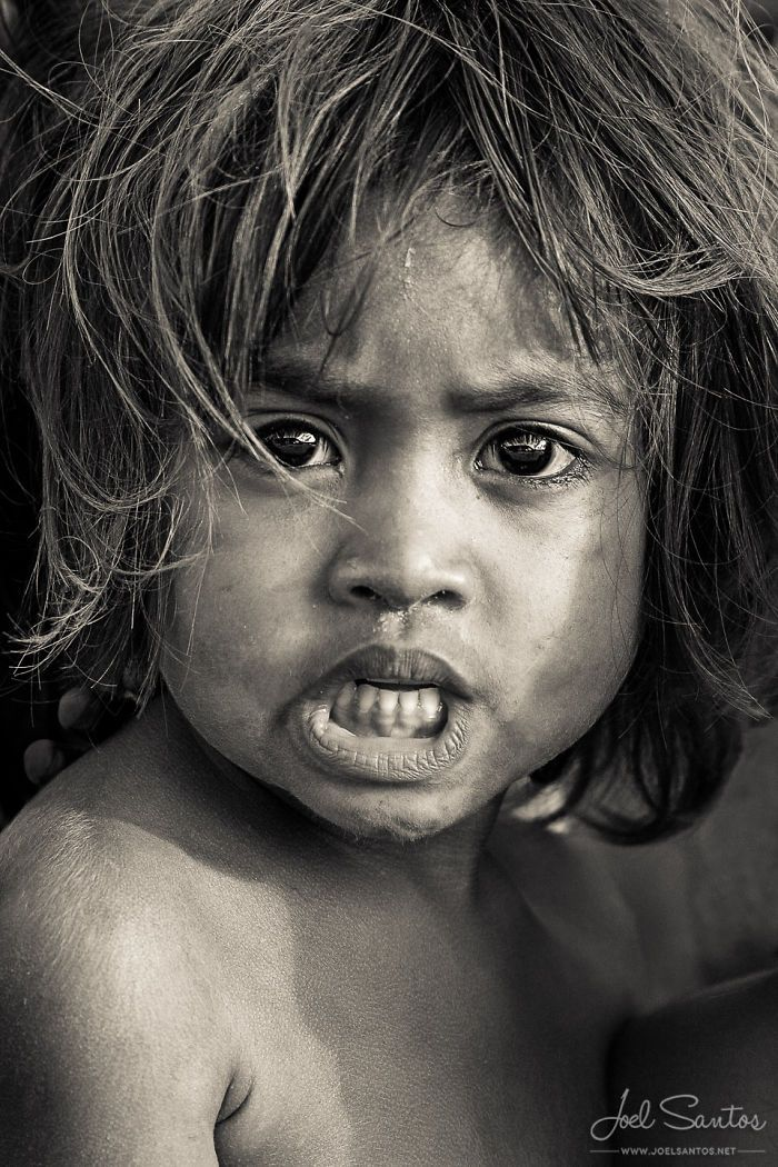 The meaningful look of these portrait says it all. Joel Santos demonstrates the feeling of his subjects.