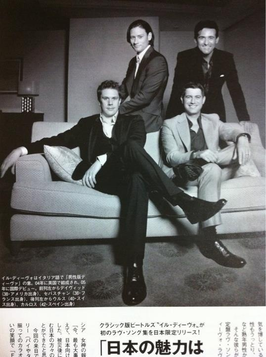 118 best images about il divo on pinterest the impossible french pop and angel - Il divo website ...