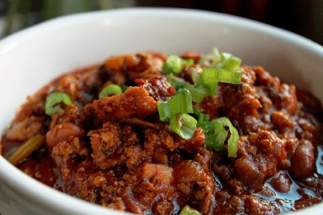 Slow Cooker Two Meat Chili