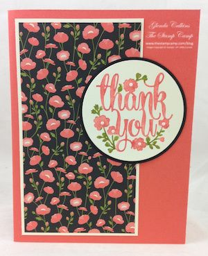 Stampin' Up! A Whole Lot of Lovely and Pretty Petals DSP stack