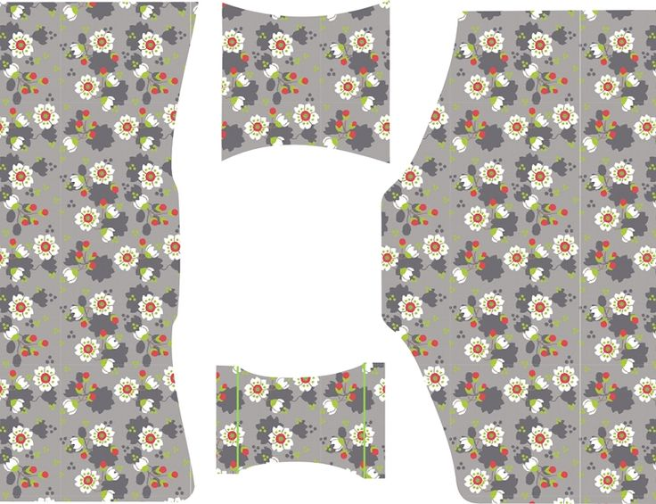 Materials: * Knit fabric (Sekura Grey by Lillestof ) - 50 cm x 70 cm (20 inch x 28 inch) * Foldover elastic - 2,5 cm x 80 cm (1...