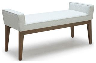 Chelsea Bench - contemporary - bedroom benches - by Inmod