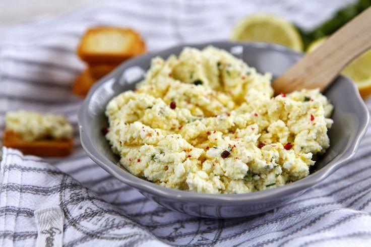 ChilliBite.pl - motywuje do gotowania!: Cytrynowa pasta z fety - rewelacyjna!