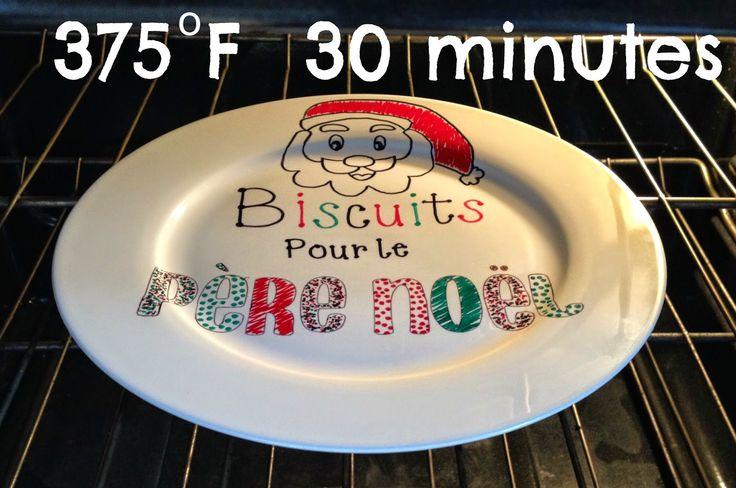 La parfaite maman imparfaite: Une assiette pour papa Noël