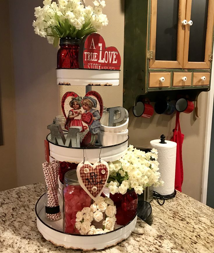 Valentine's Day styling idea