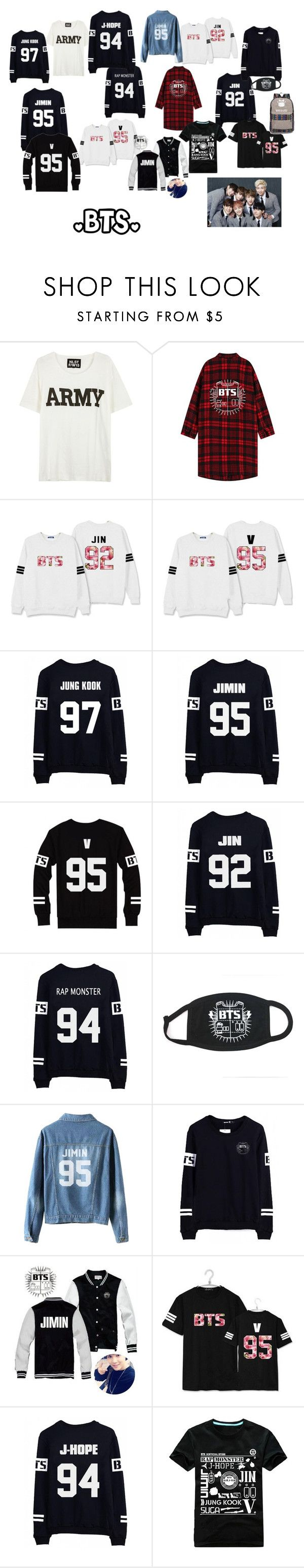 I have the white one with flowerprint and jimins name on the back~