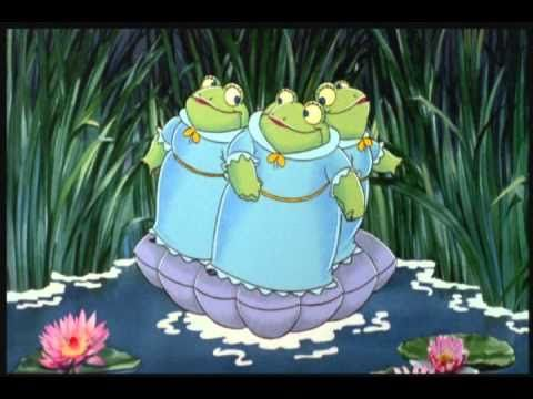 Rupert And The Frog Song - We All Stand Together met bruintje beer.