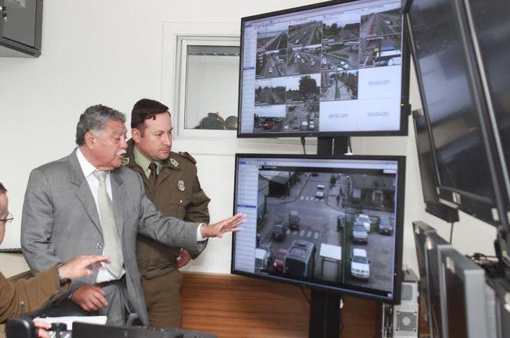 Avigilon Control Center, Alcalde, Carabineros de Chile