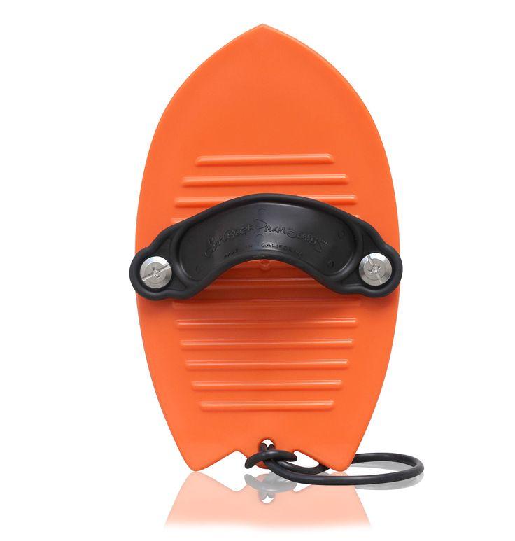 SaltCreek PalmBoard Handplane Orange, sweet new ride from Watershed